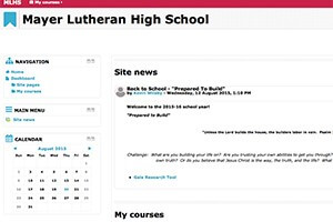 MLHS Moodle Log in
