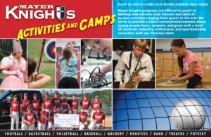 Mayer Lutheran Knights Youth Program Southwest Suburbs