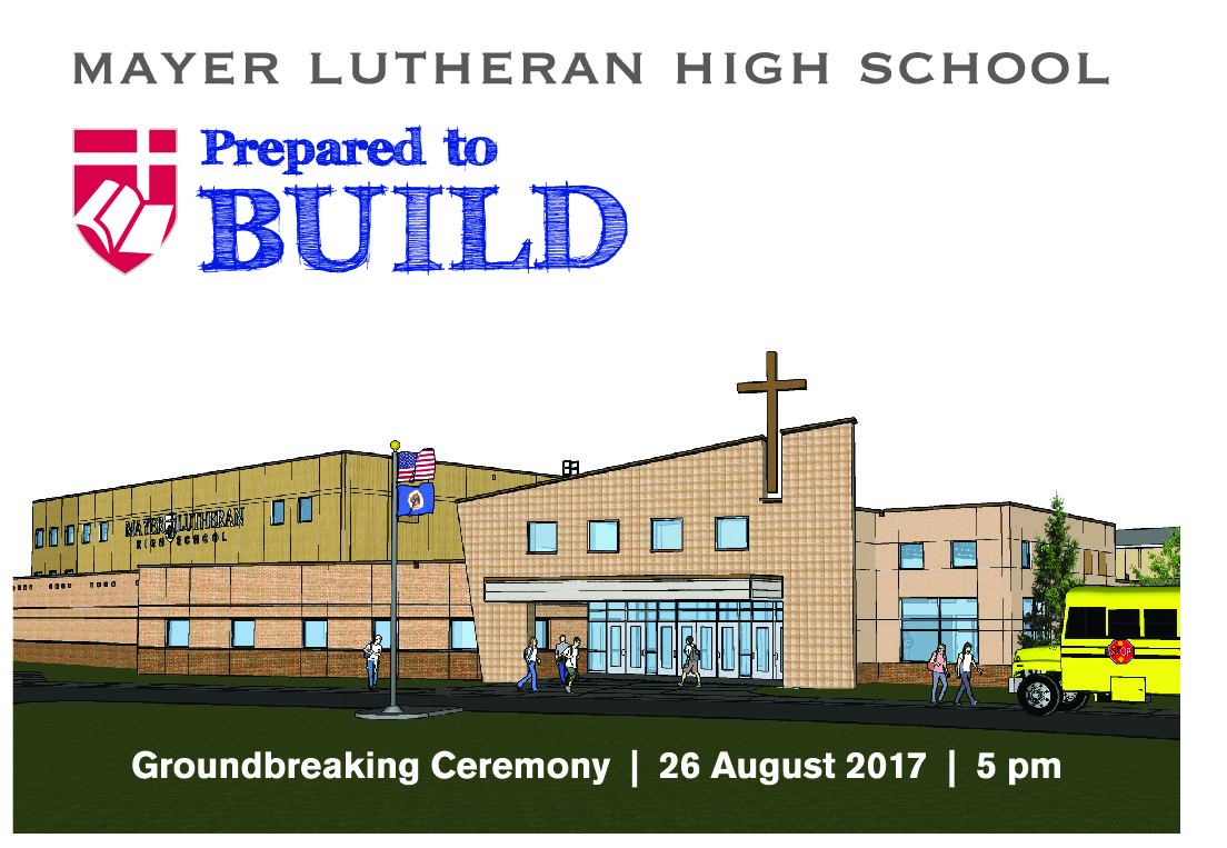 Mayer Lutheran Groundbreaking August 26 2017 5pm
