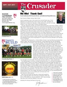 Crusader Newsletter Sept-Oct 2017