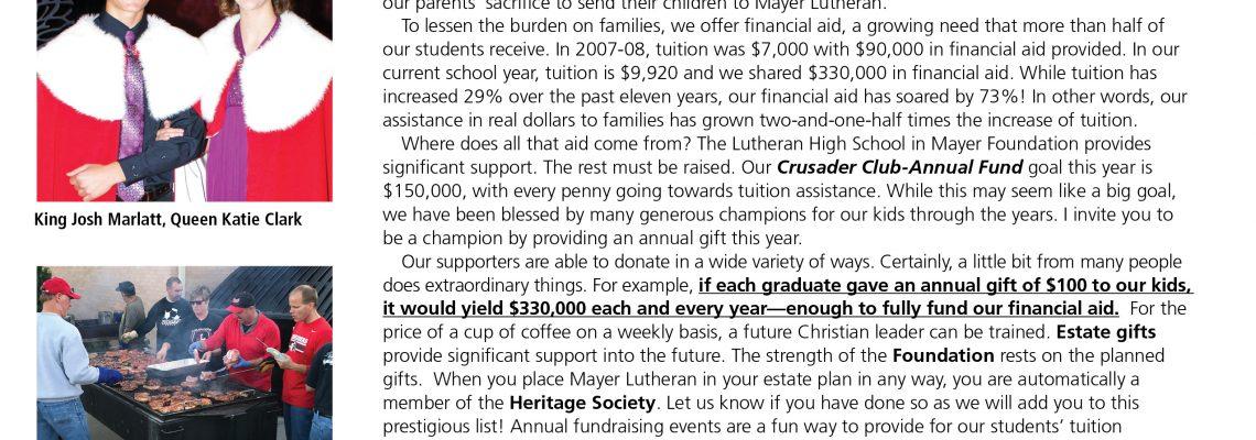 MLHS Crusader Newsletter-November 2017