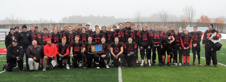 Crusader Football Team - Section 4A Champions