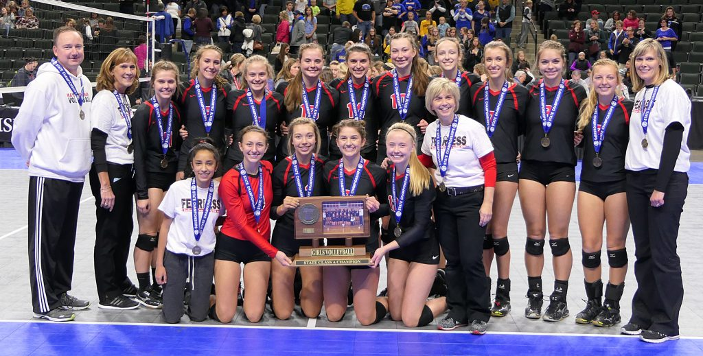 Crusader Volleyball-Class 1A Champions