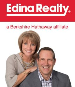bruce and sue wolf edina realty celebrate his harvest sponsor