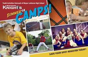 Mayer Knights 2018 Summer Camps