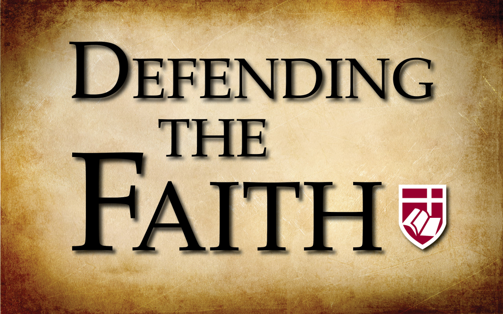 "Defending the Faith"" Adult Education Class 