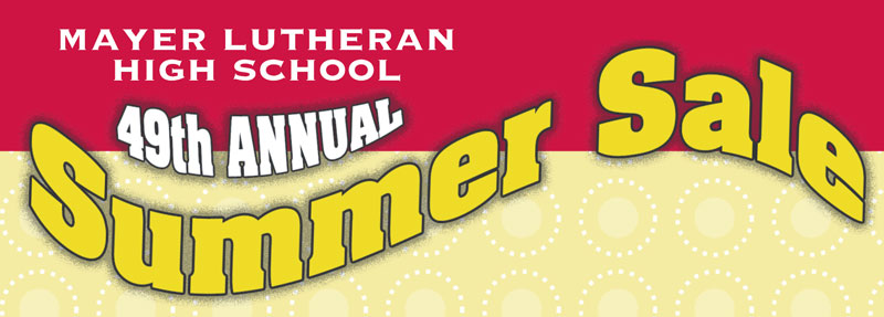 MLHS Annual Summer Sale