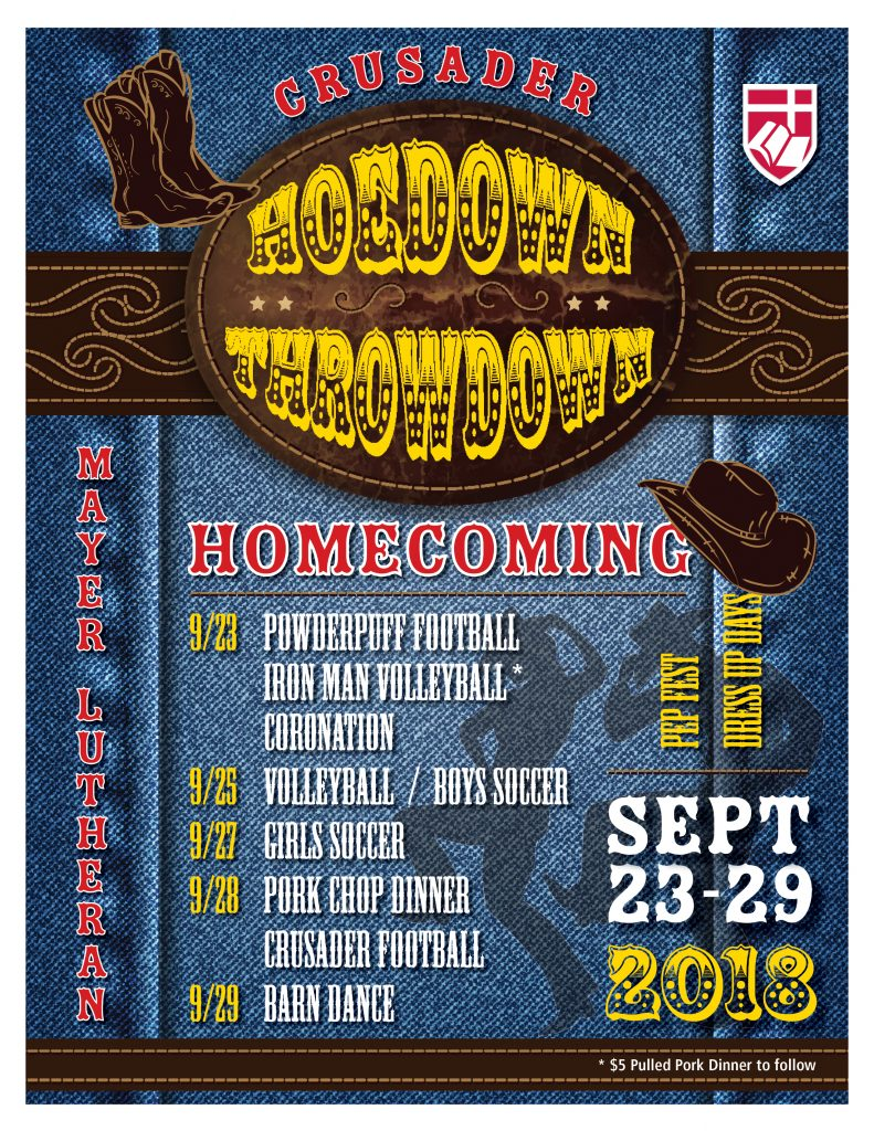 MLHS Homecoming 2018:Hoedown Throwdown