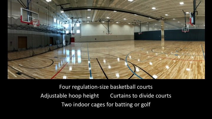 MLHS Field House Batting Cages