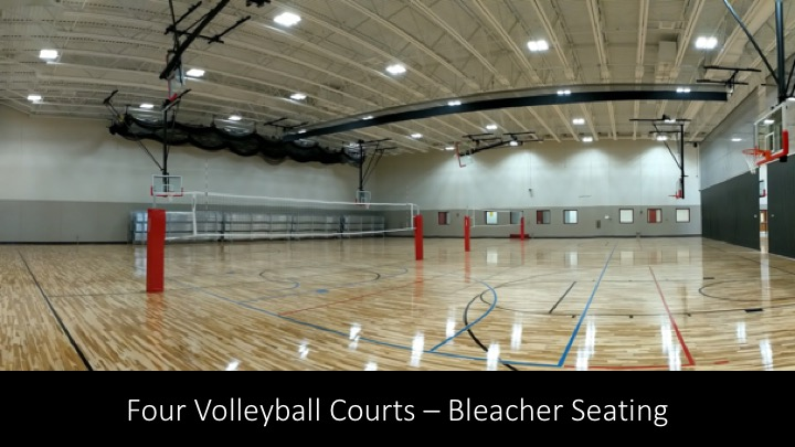 MLHS Field House Volleyball Courts