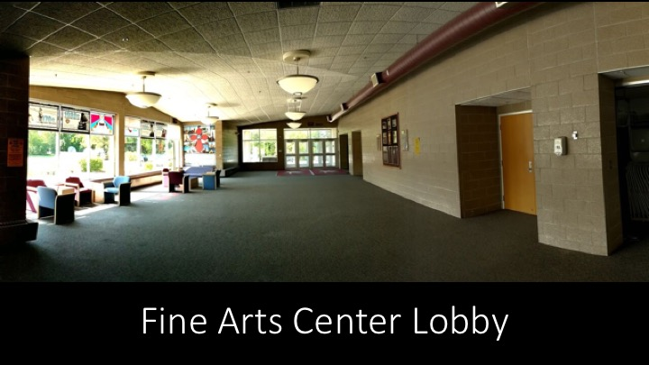 MLHS Fine Arts Center Lobby